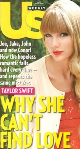 Taylor Swift on US Mag