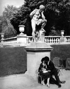 René Maltête: Jardin du Luxembourg Paris, 1960
